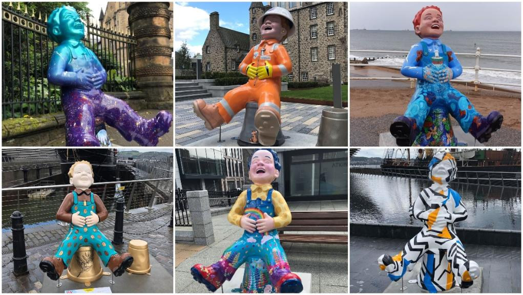 Image result for oor wullie trail edinburgh